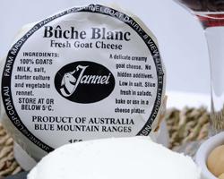 Buche Blanc - Jannei goat cheese
